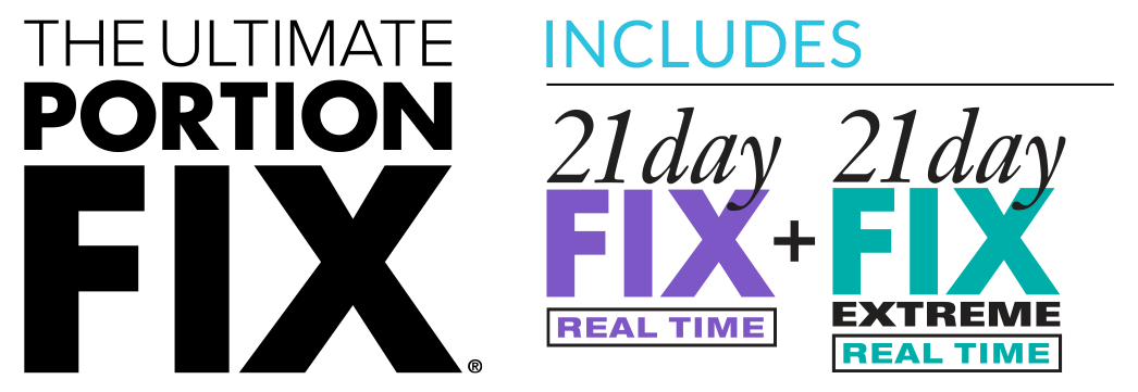 Calendario 21 Day Fix.Ultimate Portion Fix Program Materials Beachbody On Demand
